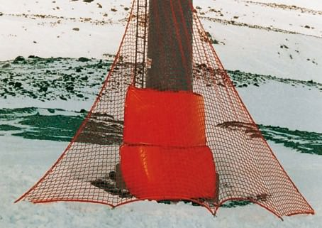 Triangular Ski Slope Nets