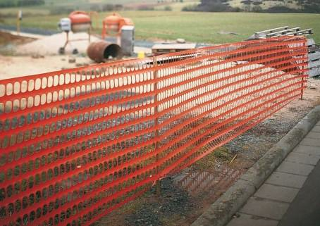 Construction-Site Fencing & Hoarding Screens