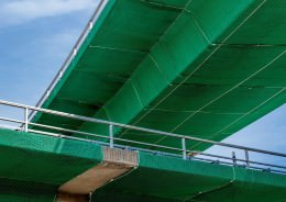 Motorway Bridge Safety Nets
