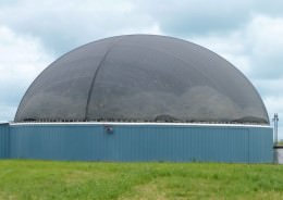 Biogas Plant Securing Net