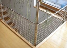 Treppenhaus-Sicherungsnetze