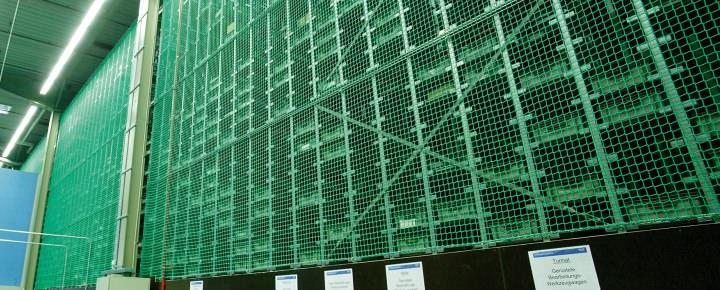 Pallet Rack Safety Nets