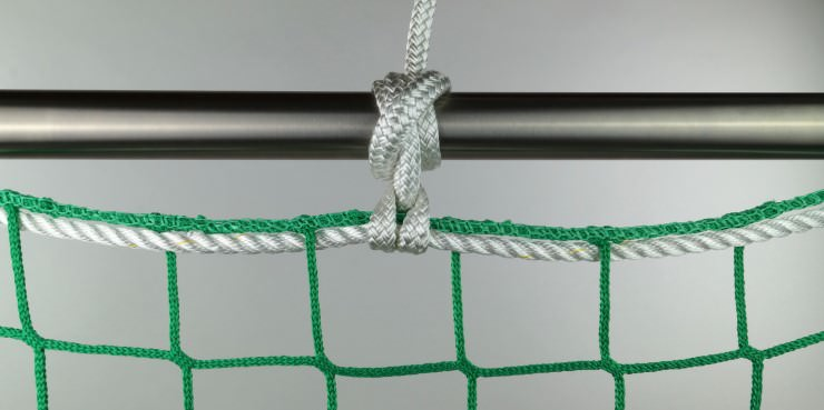 Safety Net Assembly, Mounting With Suspension Ropes