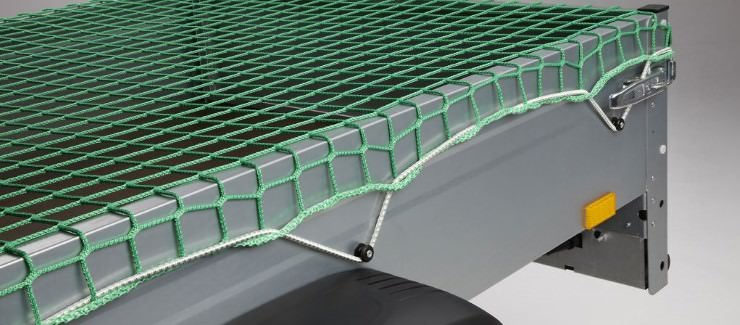 Safety Net Assembly, Mounting With Shock Cords