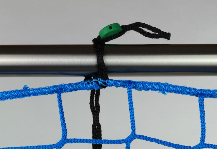 Safety Net Assembly, Mounting With Isilink Clips