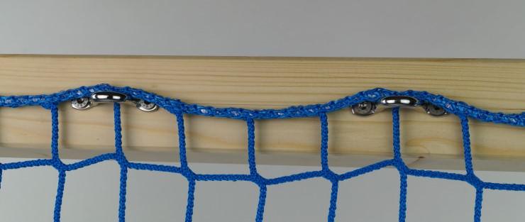 Montage mit Stahlbügeln