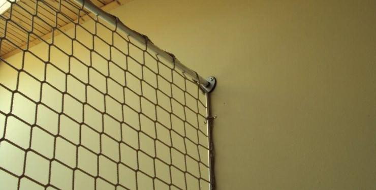 montage befestigung von schutznetzen schutznetze24. Black Bedroom Furniture Sets. Home Design Ideas