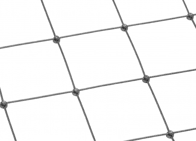 Tailor-made Stainless Steel Wire Net (2.5 mm/125 mm)