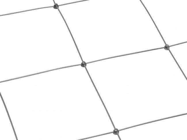 Stahldrahtnetz Edelstahl (2,5 mm/250 mm) | schutznetze24.de
