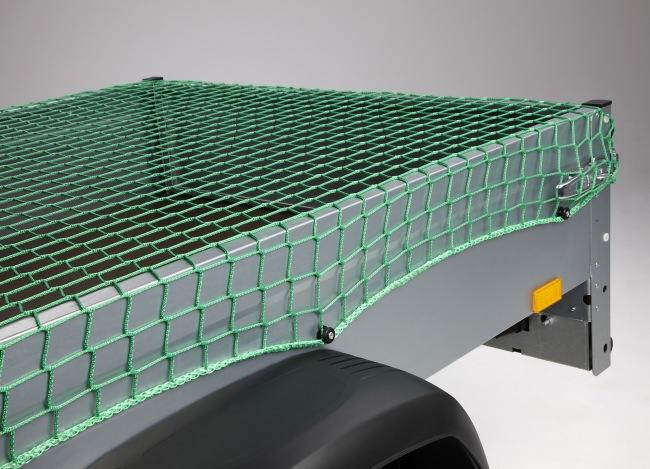 Abdecknetz für Anhänger 3,00 x 3,50 m - grün | Schutznetze24