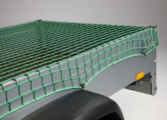 Anhängernetz 2,50 x 3,50 m - grün | Schutznetze24
