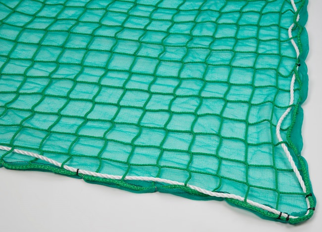 Fall Safety Net with Air-Permeable Tarpaulin 6 x 10 m | Safetynet365