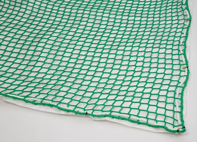 Safety Net with Overlay Panel (45 mm Mesh, Airtight) | Safetynet365