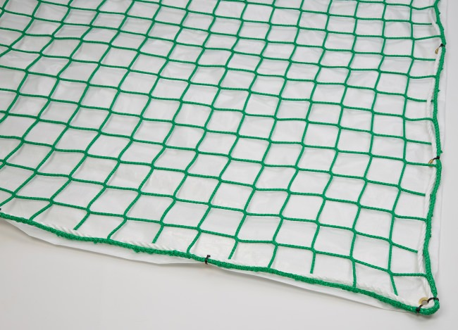 Safety Net with Overlay Panel (100 mm Mesh, Airtight) | Safetynet365