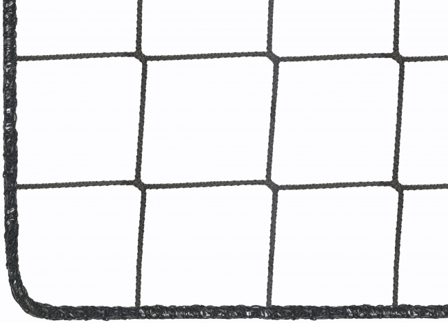 Football Ball Stop Net by the m², black (Custom-Made) | Safetynet365