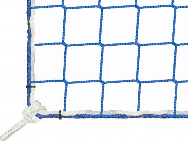 Bauschutznetz per m² (nach Maß) mit Aufhängeseilen | Schutznetze24
