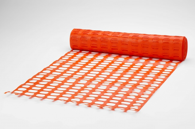 Construction Site Safety Fence 50 m, Orange | Safetynet365