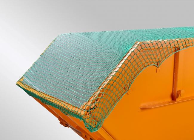 Container-Abdecknetz (DEKRA) 3,00 x 8,00 m - grün | Schutznetze24