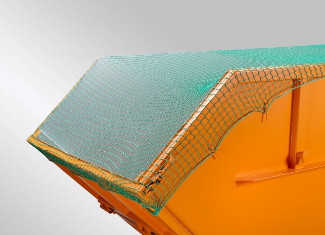 Container Netting Cover 3.50 x 6.00 m, Green | Safetynet365