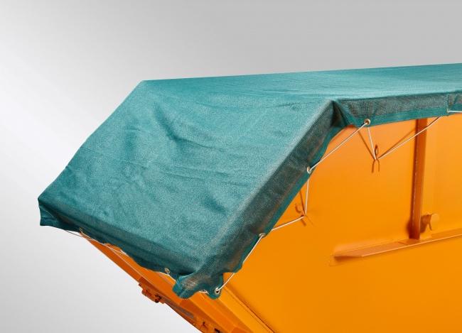Skip Covering Fabric 3.50 x 8.00 m - Dark Green | Safetynet365