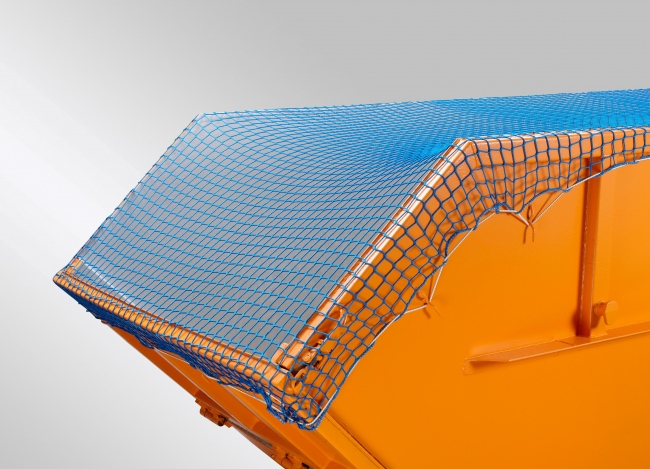 Container Covering Net 3.50 x 7.00 m, Blue or Green | Safetynet365