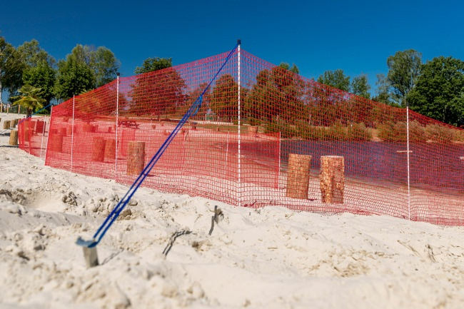 Perimeter Fence for Corona Protection Measures | Safetynet365