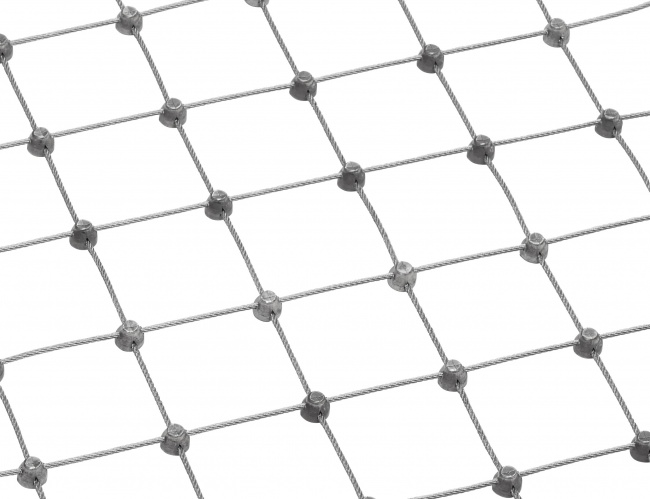 Custom-made Wire Net with 50 mm Mesh Size | safetynet365.com