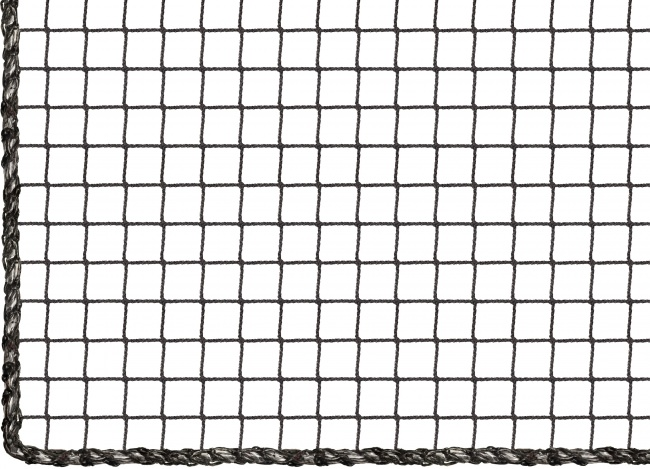 Custom-Made Close-Meshed Container Net, Black | Safetynet365