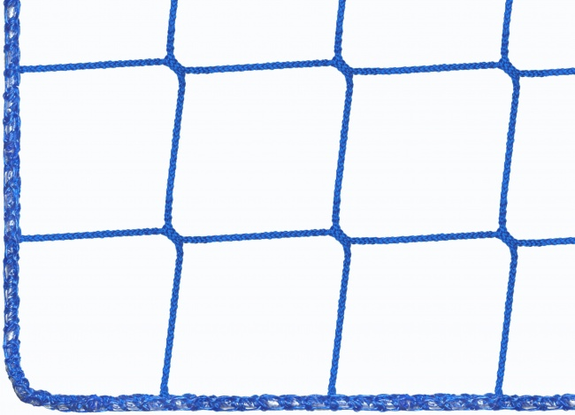Football Ball Stop Net by the m², blue (Custom-Made) | Safetynet365
