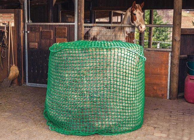 Engmaschiges Heunetz für Rundballen 1,5 x 1,5 x 1,5 m | Schutznetze24