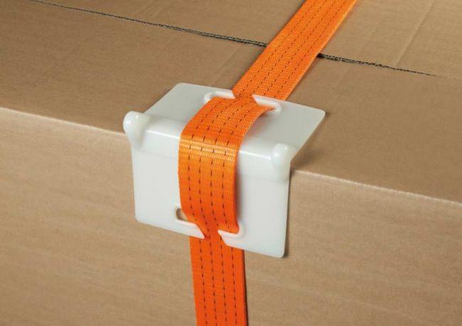 Kantenschutz für Spanngurte / Zurrgurte | Schutznetze24