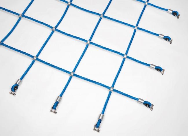 Kletternetz mit Alukugeln nach Maß (per m²) | Schutznetze24