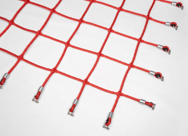 Custom-Made Scrambling Net, Braided | Safetynet365