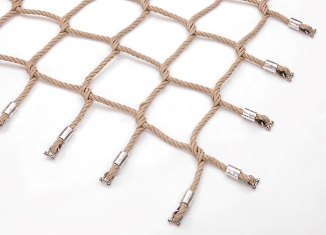 Climbing Net of Polypropylene, Mesh Size: 250 x 250 mm | Safetynet365