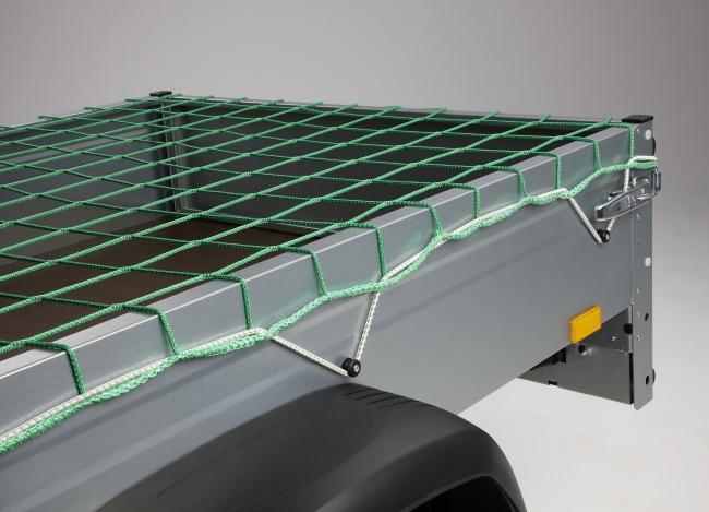 Ladungssicherungsnetz 3,00 x 3,50 m - grün | Schutznetze24
