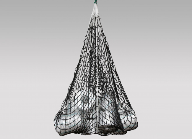 Abrasion-Resistant Lifting Net 4.00 x 4.00 m | Safetynet365