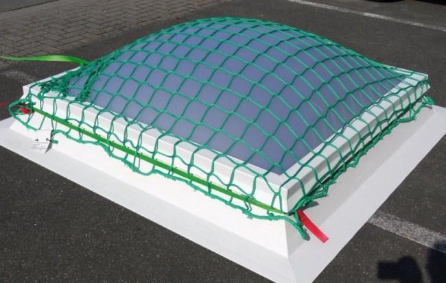 Lichtkuppelnetz nach Maß (per m²) | Schutznetze24