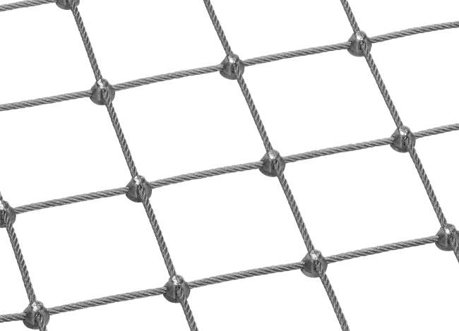 Wire Rope Netting (6.0 mm/75 mm) | safetynet365.com