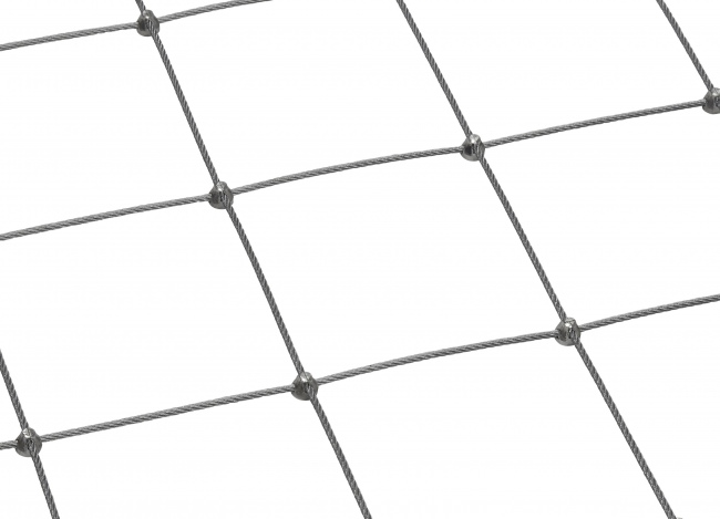 Wire Mesh Netting Made to Measure with 5.0 mm Rope Diameter