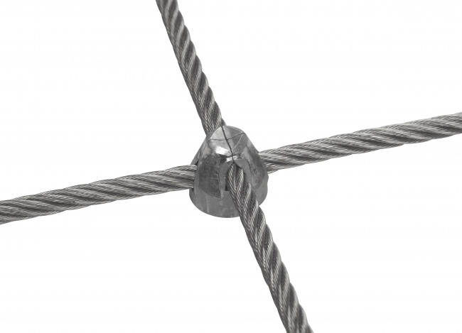Maßgefertigtes Netz aus Edelstahldraht mit 6,0 mm Materialstärke