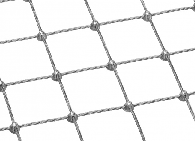 Steel Wire Rope Mesh (5.0 mm/75 mm) | safetynet365.com