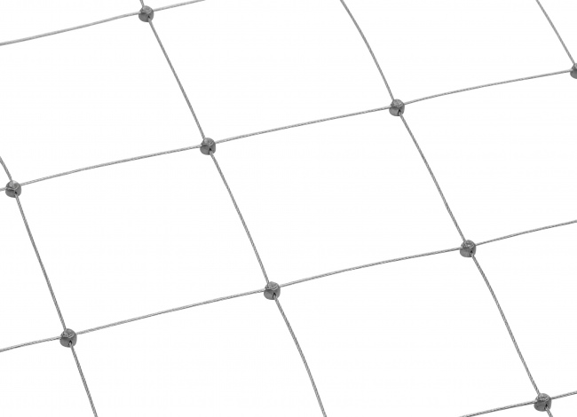 Wire Mesh Netting by the m² with 125 mm Mesh Size