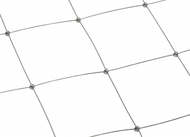 Steel Netting by the m² with 200 mm Mesh Size