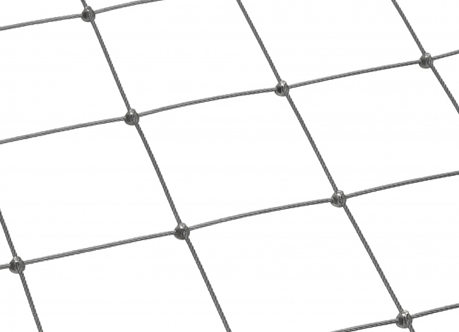 Netz aus Edelstahl nach Maß mit 4,0 mm Materialstärke