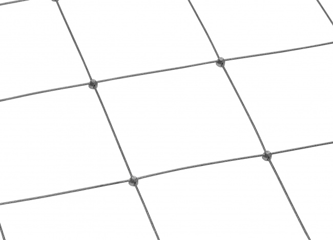Netz aus Edelstahldraht mit 3,0 mm Materialstärke