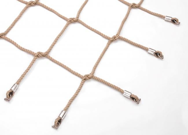 Geflochtenes Netz zum Beklettern | Schutznetze24
