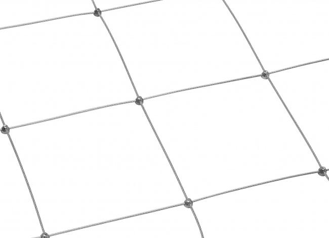 Schutznetz aus Stahl nach Maß mit 3,0 mm Materialstärke