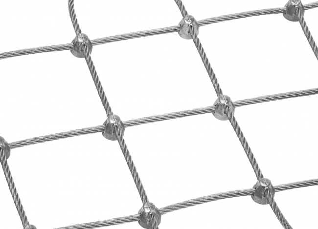 Tailor-made Steel Netting (6.0 mm/100 mm) | safetynet365.com