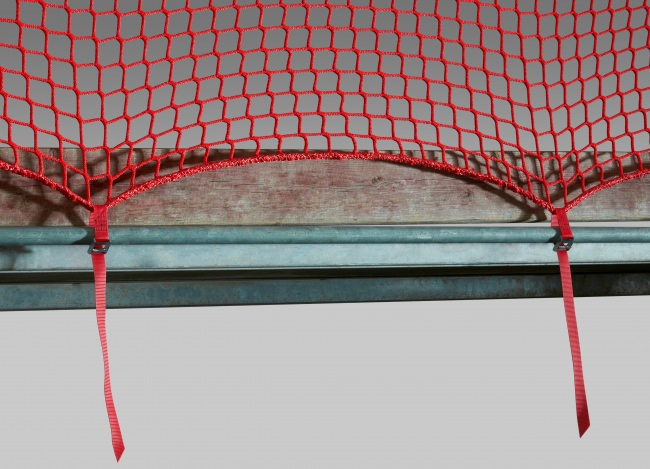 Guardrail Net 1.50 x 10.00 m with Quick-Release Straps | Safetynet365