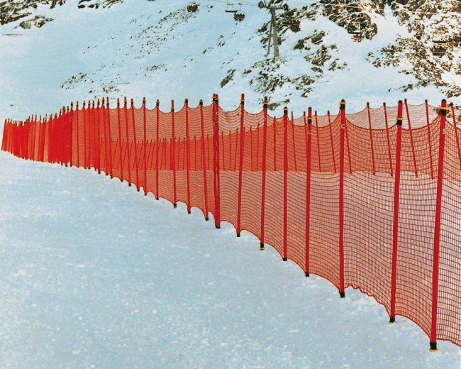 Ski Slope Barrier Net 1.20 x 25.00 m | Safetynet365
